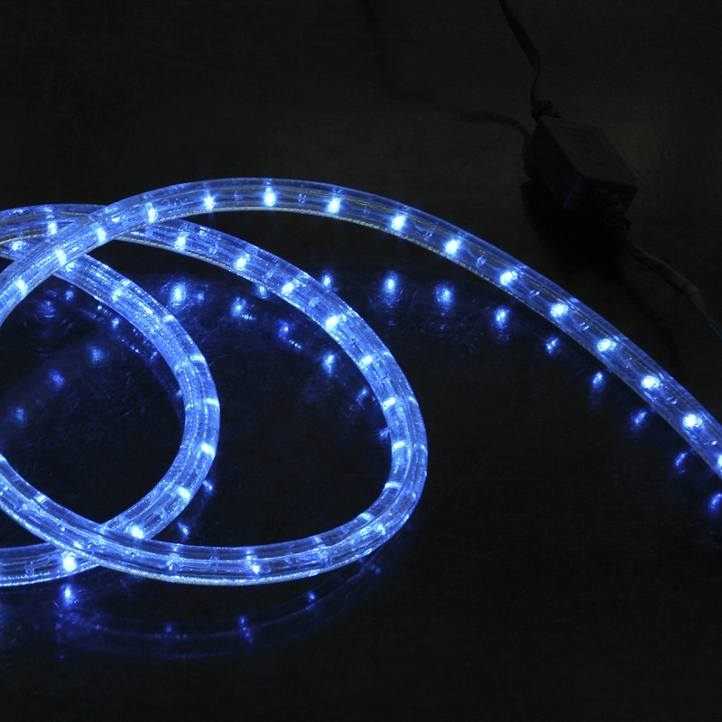 VERTICAL BLUE 2WIRES LED ROPE LIGHT