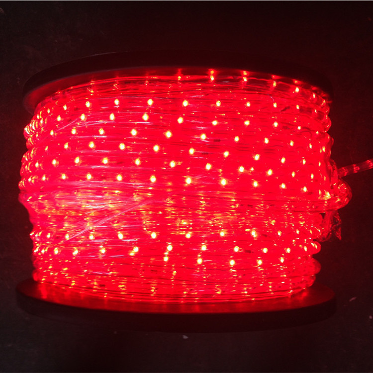 VERTICAL RED 2WIRES LED ROPE LIGHT