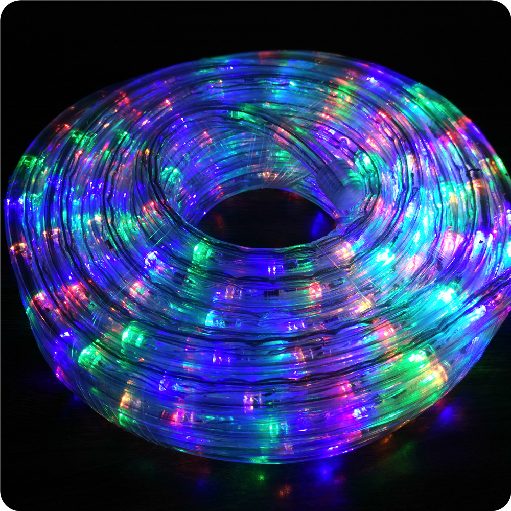 Chasing multi 10m led rope light