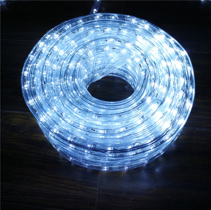 Chasing white 10m led rope light