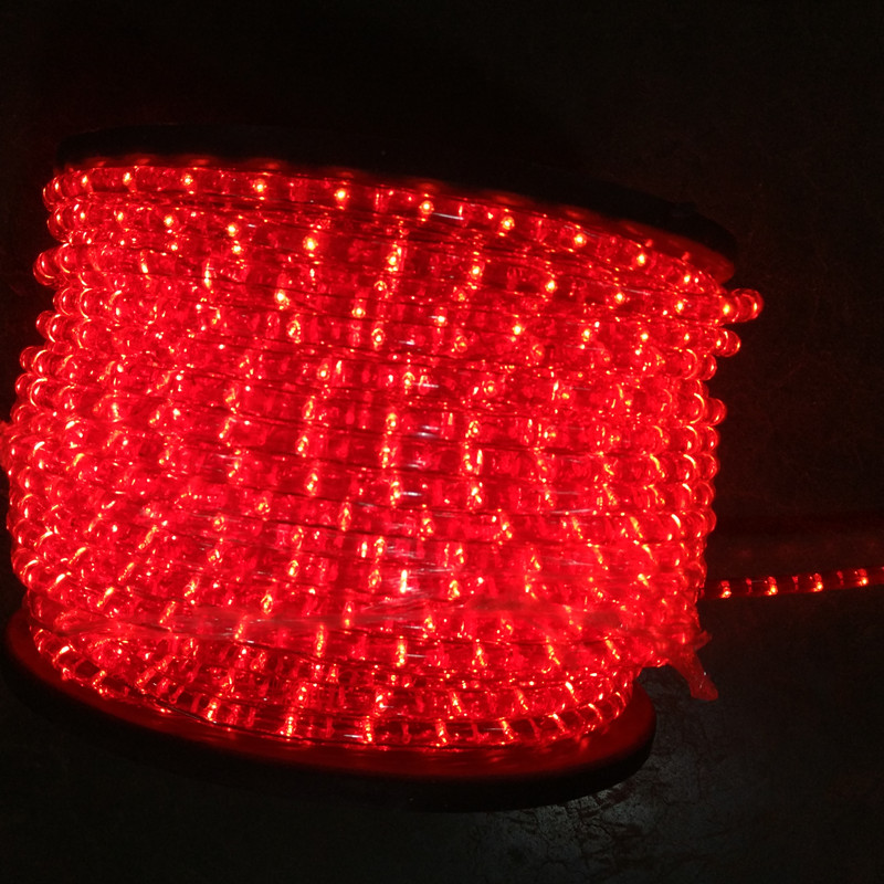 Red Incandescent rope light